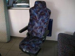 Fahrersitz ohne Gurte