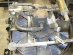 kühler mit hydraulischem Lüfter